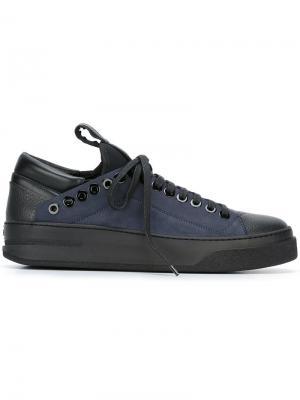 Кроссовки со шнуровкой Bruno Bordese. Цвет: чёрный