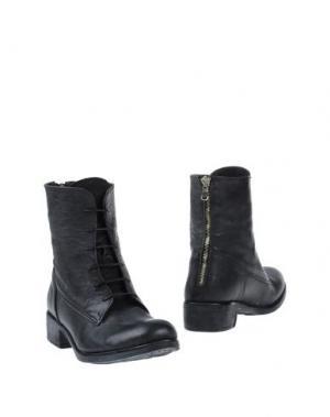 Полусапоги и высокие ботинки PAUSE. Цвет: стальной серый