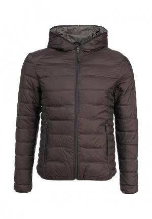 Куртка утепленная Alcott. Цвет: коричневый