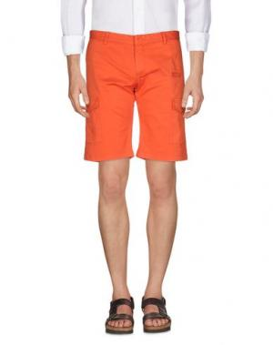 Бермуды DAVID NAMAN. Цвет: оранжевый