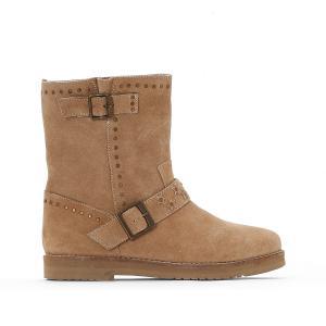 Ботинки замшевые  Mica COOLWAY. Цвет: бежевый