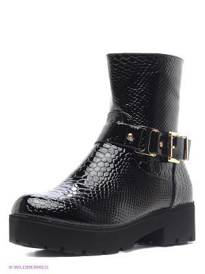 Ботинки Burlesque. Цвет: черный