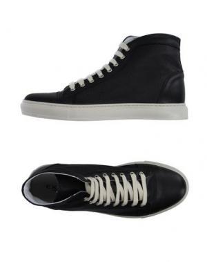 Высокие кеды и кроссовки EXIBIT. Цвет: черный