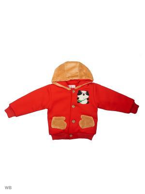 Куртка Happy Bear. Цвет: красный