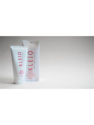 Маска для лица Natural Facial Mask  with Dead Sea Mud (Mint) Kleio Skin Care System. Цвет: серо-зеленый