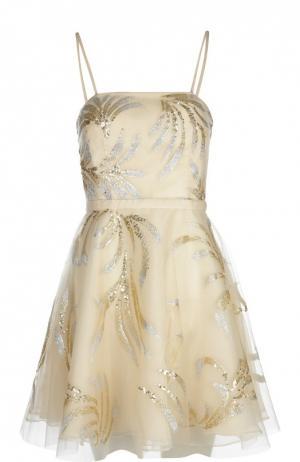 Платье Basix Black Label. Цвет: светло-бежевый