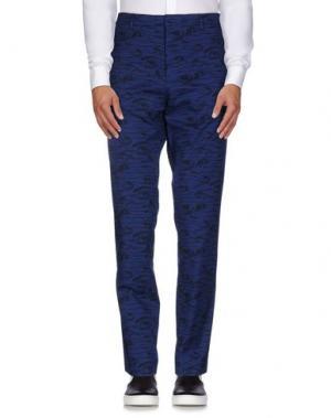 Повседневные брюки HENTSCH MAN. Цвет: темно-синий