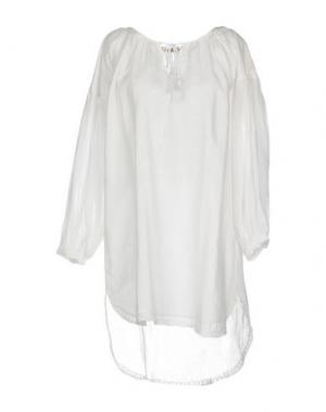 Блузка SETE DI JAIPUR. Цвет: белый