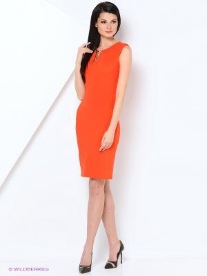 Платье LILA ROSE. Цвет: коралловый