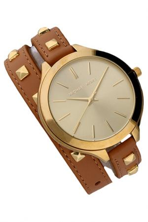 Watch Michael Kors. Цвет: gold, brown