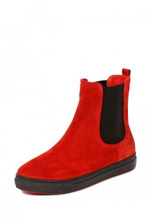 Ботинки Mamashoes. Цвет: красный
