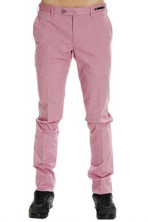 Брюки PT. Цвет: розовый