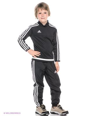 Джемпер TIRO15 TRAINING TOP Adidas. Цвет: черный