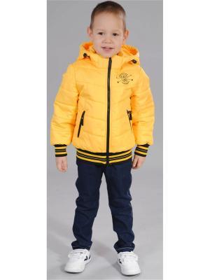 Куртка Милашка Сьюзи. Цвет: желтый
