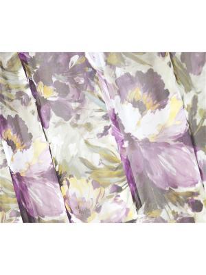 Вуаль Вайлет 200х270 см. T&I. Цвет: фиолетовый, серый