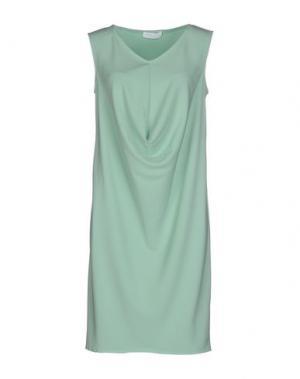 Короткое платье LES SOEURS. Цвет: светло-зеленый
