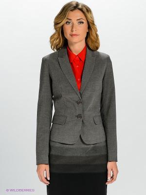 Пиджак QUIOSQUE. Цвет: серый