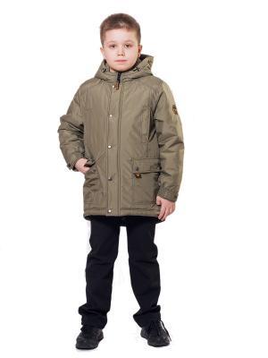 Куртка SAIMA. Цвет: оливковый