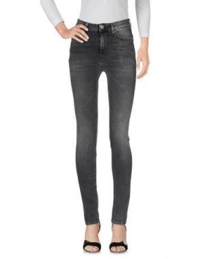 Джинсовые брюки HAIKURE. Цвет: серый