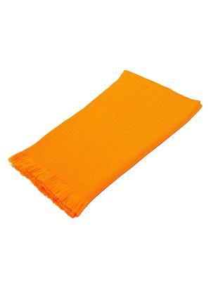 Плед РУНО. Цвет: оранжевый