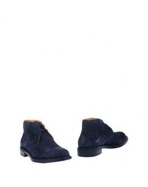 Полусапоги и высокие ботинки DOMENICO TAGLIENTE. Цвет: темно-синий