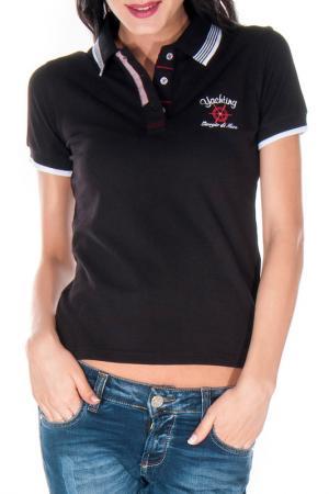 Рубашка-поло GIORGIO DI MARE. Цвет: черный
