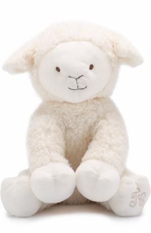 Мягкая игрушка Овца Tartine Et Chocolat. Цвет: кремовый