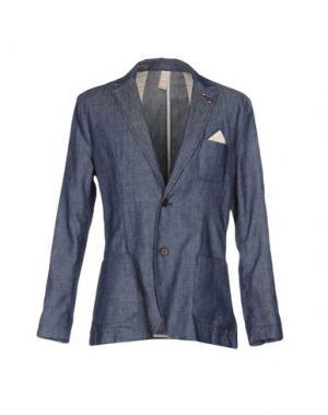 Пиджак INDIVIDUAL. Цвет: синий