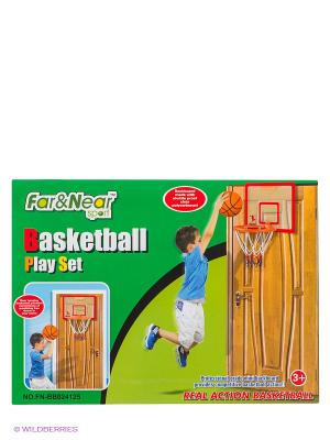 Набор баскетбольный Far&Near. Цвет: зеленый