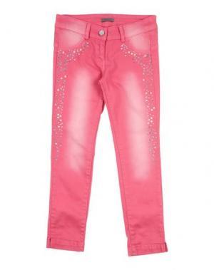 Джинсовые брюки MISS GRANT. Цвет: фуксия
