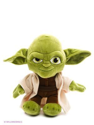 Игрушка Звездные Войны Йода 30 см Disney. Цвет: зеленый, бежевый