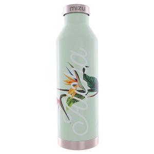 Бутылка для воды  V8 Aloha Glossy Mint Sst Cap Mizu. Цвет: зеленый