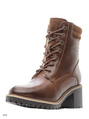Ботинки DOCKERS.. Цвет: светло-коричневый