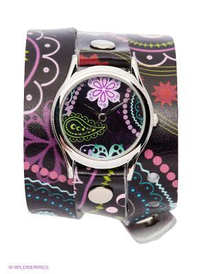 Часы DenisMart. Цвет: черный, фиолетовый, розовый