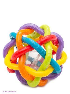 Игрушка-погремушка Шар Playgro. Цвет: красный, оранжевый, желтый, белый, черный, салатовый, голубой, фиолетовый, прозрачный