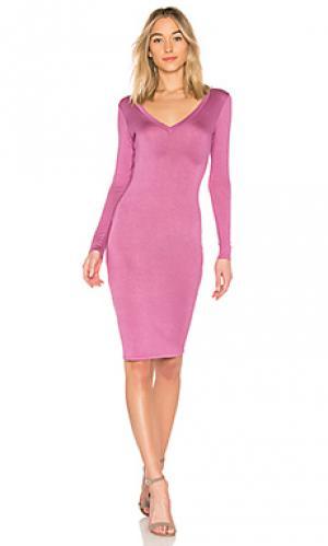 Платье ruth Riller & Fount. Цвет: фиолетовый