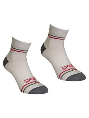 Носки 2 пары Master Socks. Цвет: светло-серый