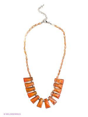 Колье Infiniti. Цвет: оранжевый