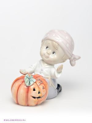 Фигурка Halloween Pavone. Цвет: белый, оранжевый