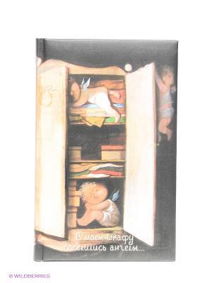 Angels. В моем шкафу поселились ангелы...Блокнот Евгения Гапчинская Эксмо. Цвет: черный