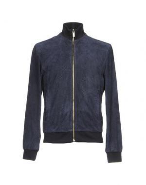 Куртка BIKKEMBERGS. Цвет: темно-синий
