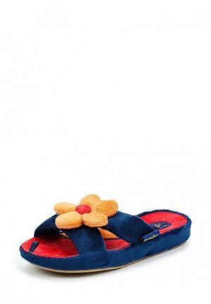 Тапочки Dream Feet. Цвет: синий