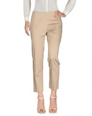 Повседневные брюки SANDRO FERRONE. Цвет: бежевый