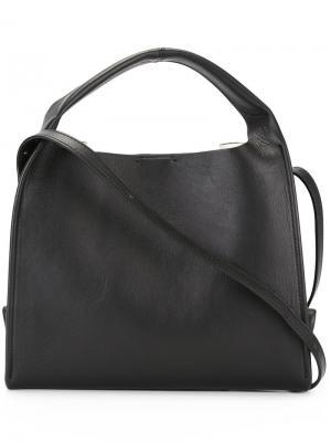 Структурированная сумка на плечо Maison Margiela. Цвет: чёрный