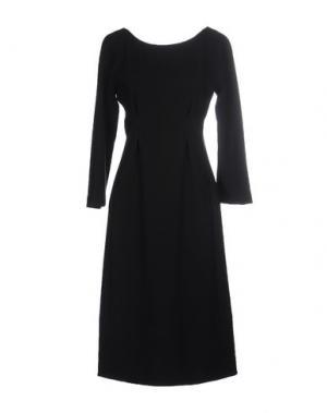 Платье до колена GARAGE NOUVEAU. Цвет: черный