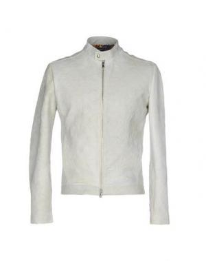Куртка ROBERTO PEPE. Цвет: светло-серый