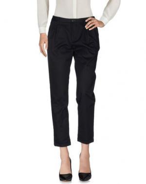 Повседневные брюки VINTAGE 55. Цвет: черный