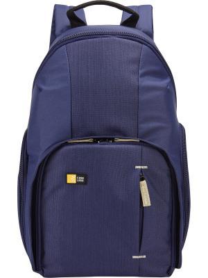 Рюкзак Case Logic для DSLR-камеры, компактный (TBC-411-INDIGO). Цвет: синий