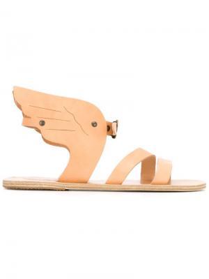 Сандалии Hermes Ancient Greek Sandals. Цвет: телесный