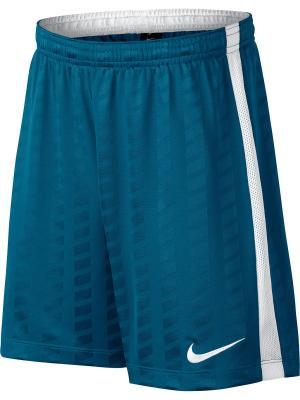 Шорты Y NK ACDMY SHORT JAQ K Nike. Цвет: синий, белый